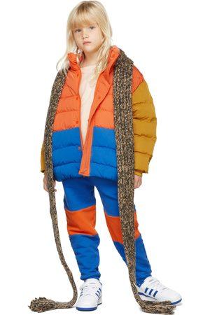Repose AMS Kids Blue & Orange Matisse Color Block Lounge Pants