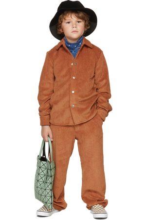 BO(Y)SMANS Kids Brown Corduroy Shirt