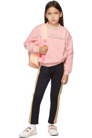 Marc Jacobs Kids Pink Logo Sweatshirt