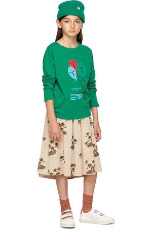 Weekend House Kids Kids Green Balloons Long Sleeve T-Shirt