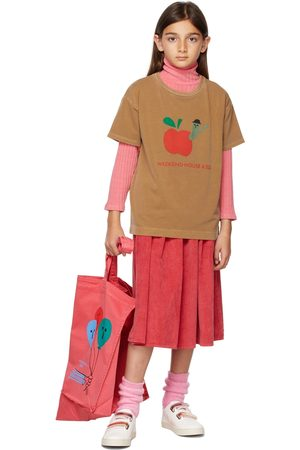 Weekend House Kids Kids Tan Apple T-Shirt