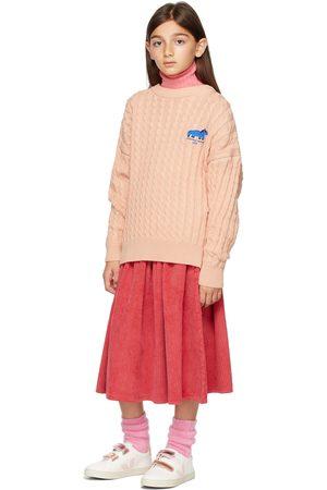 Weekend House Kids Kids Red Corduroy Skirt