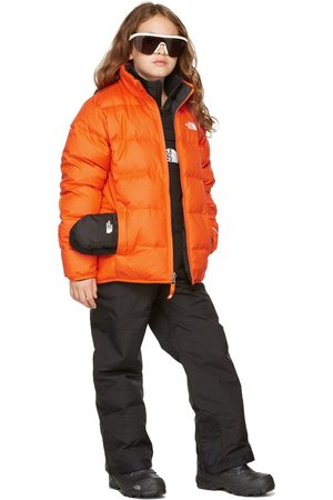 The North Face Kids Reversible Orange Down Andes Jacket
