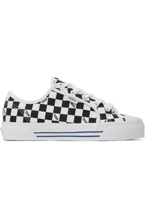 Vans Black & White OG Style 23 LX Checkerboard Sneakers