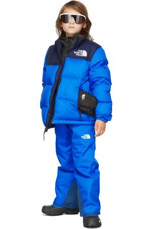 The North Face Kids Blue Insulated Freedom Trousers
