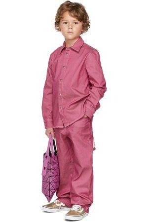 BO(Y)SMANS Kids Pink Denim Jeans