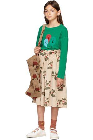 Weekend House Kids Kids Beige Corduroy House Skirt