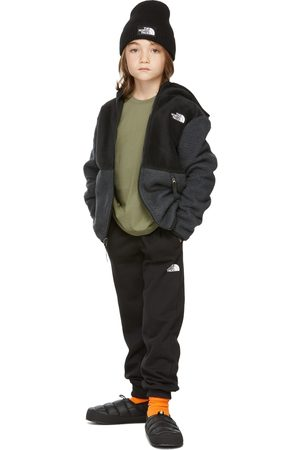 The North Face Kids Black & Grey Forrest Full Zip Hoodie