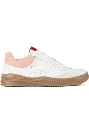Chloé Kids Off-White Franckie Sneakers