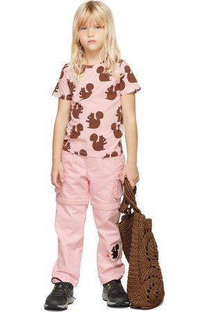 Mini Rodini Kids Pink Squirrel T-Shirt
