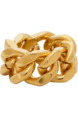 In Gold We Trust Gold Cuban Link Ring