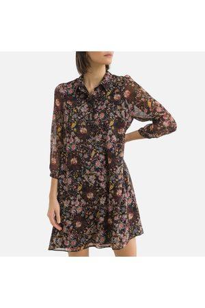IKKS Dames Korte jurken - Jurk in voile, bloemmotief