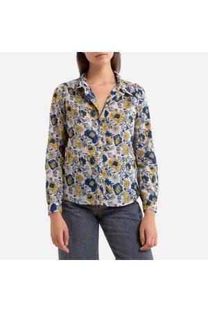Petite Mendigote Dames Blouses - Hemd met glanzende strepen en lange mouwen Tatiana