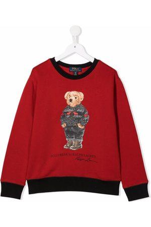 Ralph Lauren Jongens Sweaters - Teddy bear sweatshirt