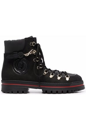 Pollini Dames Laarzen - Side embossed-logo boots