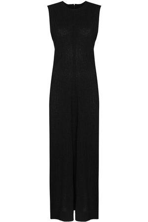 Jil Sander Dames Mouwloze jurken - Round-neck sleeveless dress