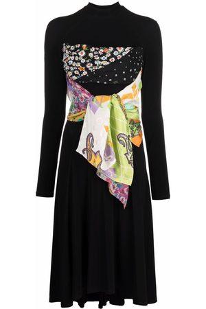 Marine Serre Meisjes Sjaals - One of a kind scarf dress