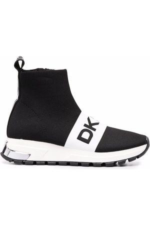 DKNY Dames Sokken - Logo lettering sock sneakers