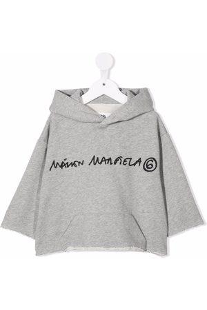 MM6 KIDS Meisjes Hoodies - Logo-print cotton hoodie
