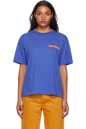 Calvin Klein Dames T-shirts - Blue Season 2 Heavy Weight T-Shirt