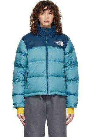 The North Face Dames Donsjassen - Navy & Blue 1996 Retro Nuptse Jacket