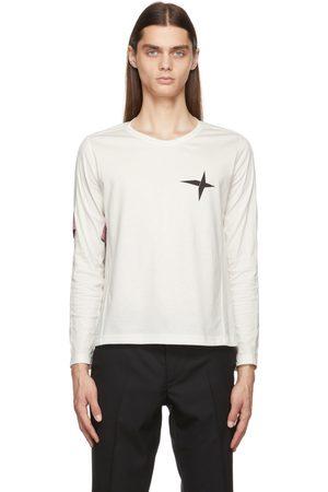 ADYAR Heren Armbanden - SSENSE Exclusive White Armband Long Sleeve T-Shirt