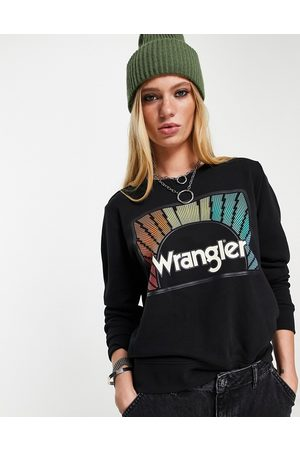 Wrangler Graphic sweat in washed black