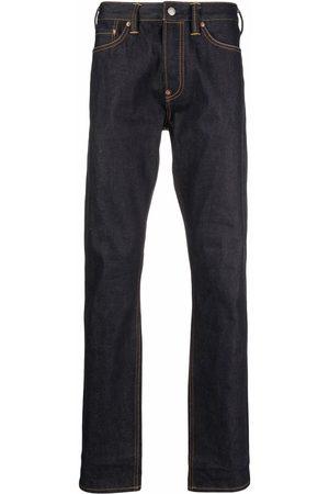 Evisu Heren Straight - Logo-print carrot-fit jeans