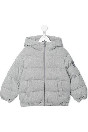 Dolce & Gabbana Jongens Donsjassen - Cotton padded puffer jacket