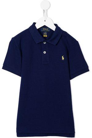 Ralph Lauren Jongens Korte mouw - Logo-embroidered short-sleeve polo shirt