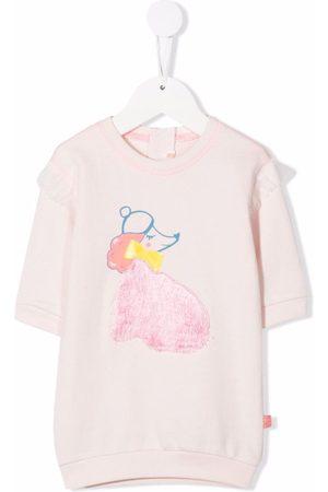 Billieblush Poodle print jumper dress