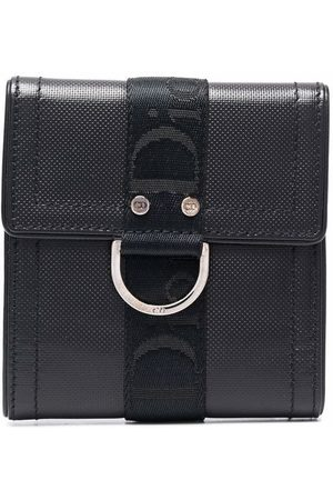 Dior 2010 pre-owned logo-tape tri-fold wallet