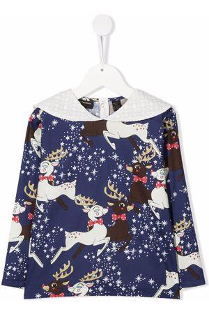 Mini Rodini Reindeer blouse