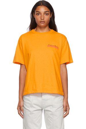 Calvin Klein Orange Season 2 Heavy Weight T-Shirt