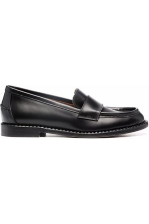 L'Autre Chose Dames Loafers - Round-toe leather loafers