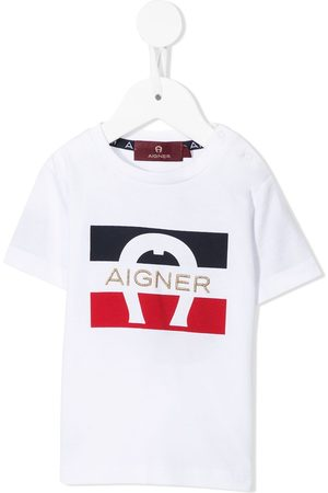 Aigner Logo-embroidered short-sleeve T-shirt