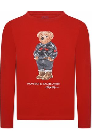 Ralph Lauren Polo Bear long-sleeve top