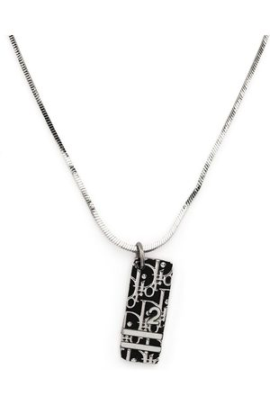 Dior 1990-2000s pre-owned Trotter pendant necklace