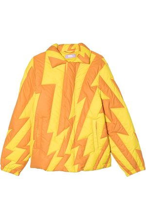 ERL KIDS Jongens Donsjassen - Lightning pattern puffer jacket