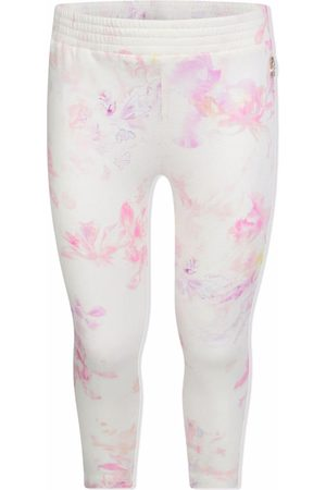Roberto Cavalli Floral-print cotton leggings