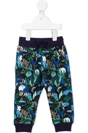 Kenzo Leaf-print track pants