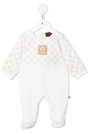 Aigner Logo-patch cotton pyjamas