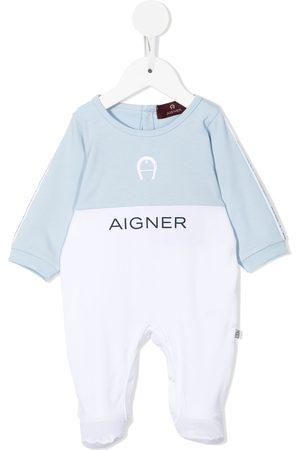 Aigner Logo-print colour-block pyjamas