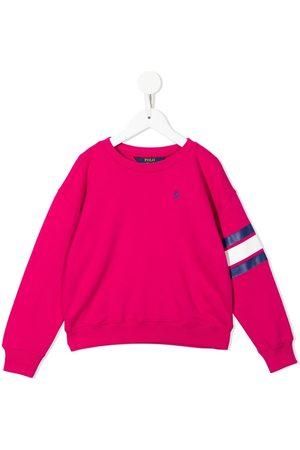 Ralph Lauren Logo-embroidered long-sleeve sweatshirt