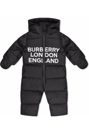 Burberry Logo-print padded snowsuit