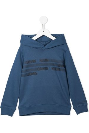Calvin Klein Logo-print cotton hoodie
