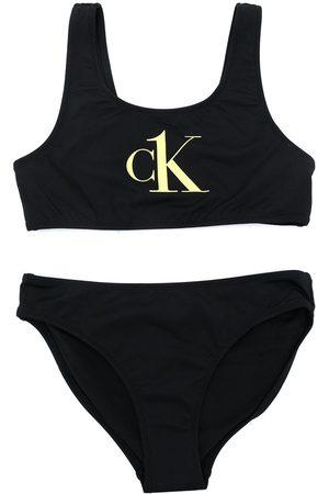 Calvin Klein Meisjes Tankini's - Logo-print bikini set